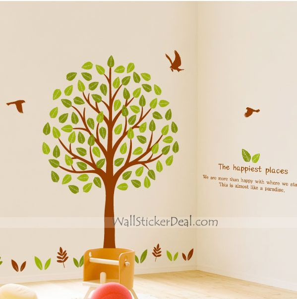 Farrell Tree Wall Stickers