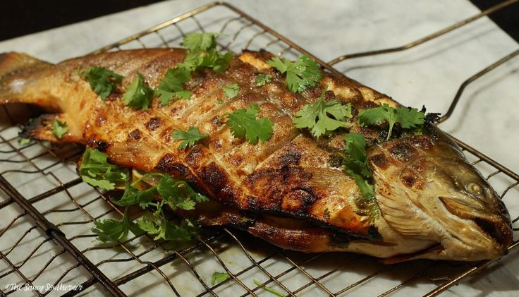 Grilled Arctic Char | The Saucy Southerner #FishFridayFoodies