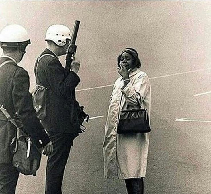5 Iconic Images of Black Women Saying 'Naw' In the Face of Racial Violence