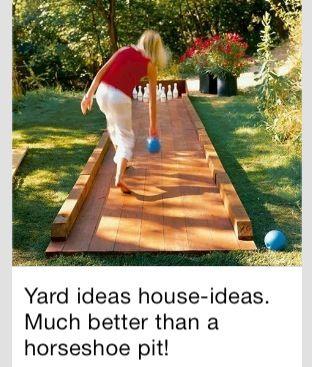 Backyard idea that my little girl would love!