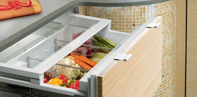 ICBID 36CI Integrated Undercounter Combination Refrigerator Freezer Drawers  From Sub Zero Www.subzero