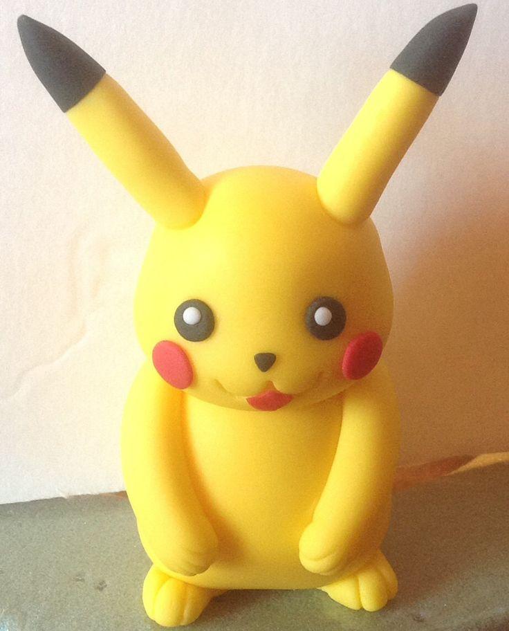 Pokemon Fondant Cake Topper Par Afterhourscakery Sur Etsy