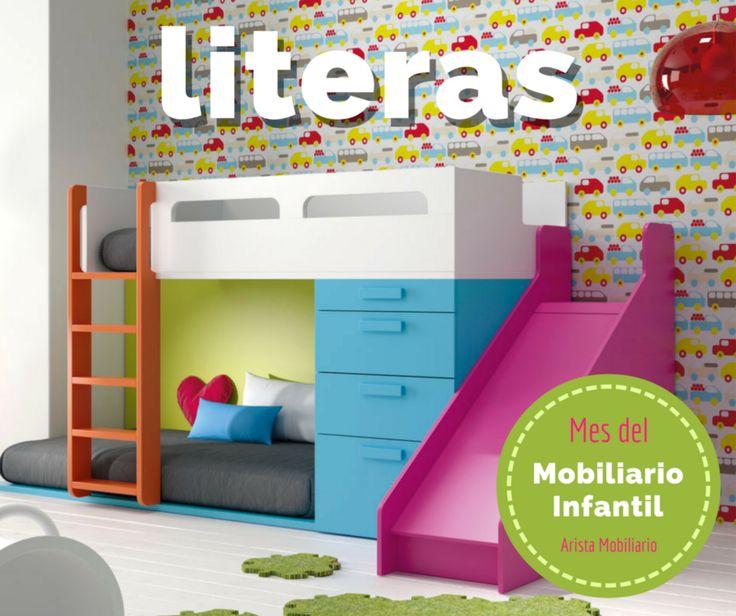 Pin de arista mobiliario en ofertas en muebles y decoraci n en 2018 pinterest literas - Tobogan para litera ...