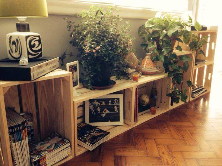 mesa cajas de madera - Buscar con Google