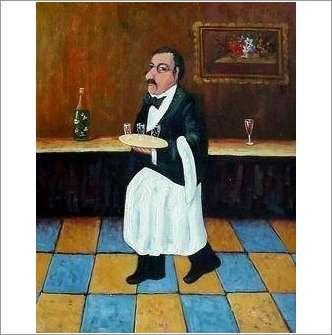 Original Oil on Canvas 'Encore Des Verresa' on eBid United Kingdom