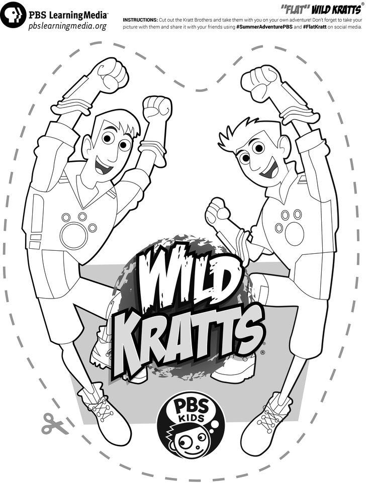 Famoso Kratts Salvajes Para Colorear Viñeta - Ideas Para Colorear ...