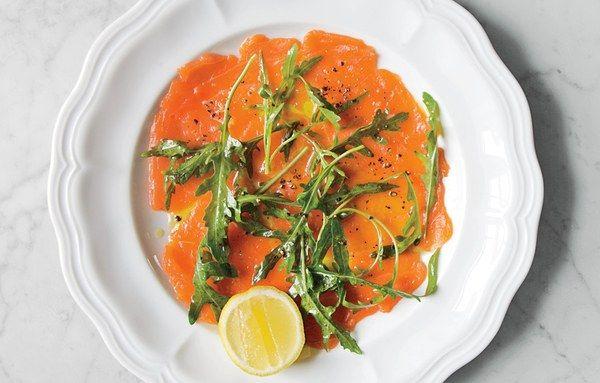Wild Salmon Crudo Recipe