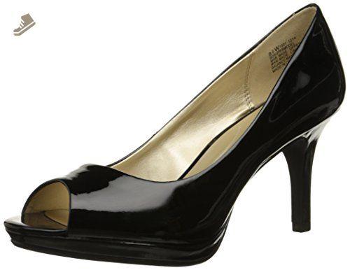 Bandolino Womens Nekesh Closed Toe Ankle Strap Classic Pumps Black Size 6.0 3F