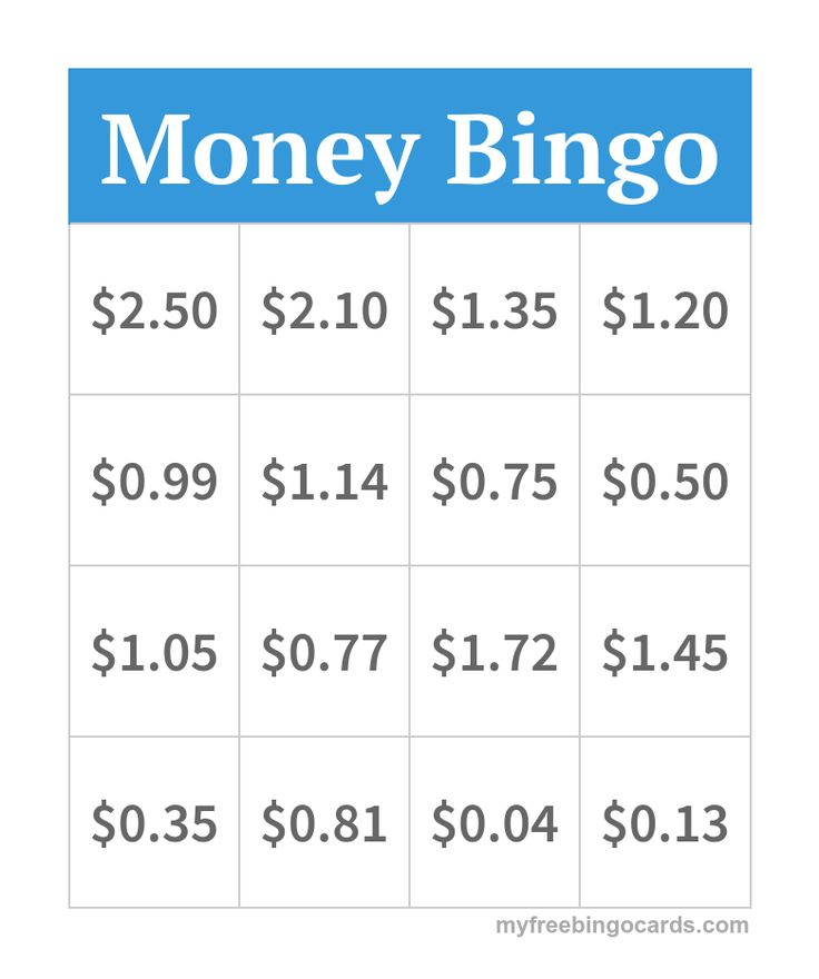 Best  Money Bingo Ideas On   Learning Money Coin
