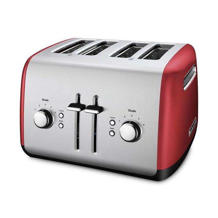 Kitchenaid kmt4115er 4 slice toaster w manual highlift