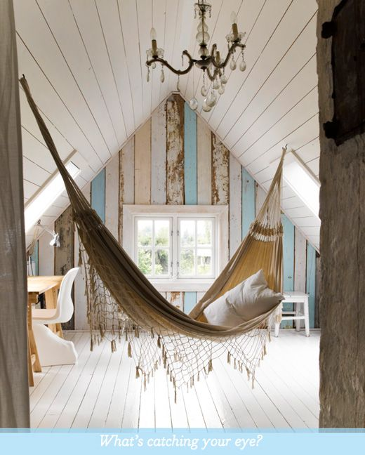 Love this idea: using scrapwood and painting in pastel shades which blend subtly.