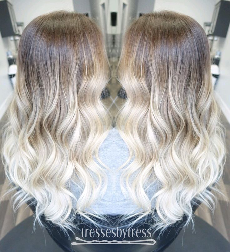 The 25 best platinum blonde ombre ideas on pinterest - Ombre hair haarfarbe ...