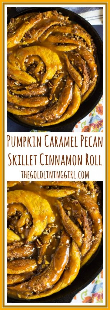 Pillowy soft, fluffy, chewy pumpkin cinnamon rolls, with butter, brown sugar, pecans, and cinnamon intertwined in every bite!
