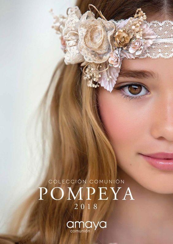 Colección Pompeya 2018 Amaya comunión   El Bosque