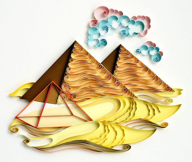 find this pin and more on quilling monumentos luz by