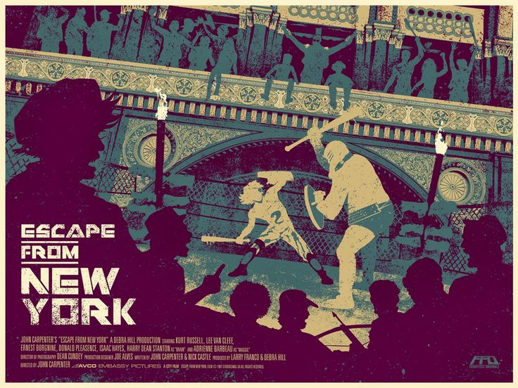 Cool Art: 'Escape From New York' by Nat Marsh