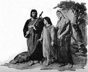 When Jesus is twelve years old, He goes with His parents to Jerusalem for the feast of the Passover.