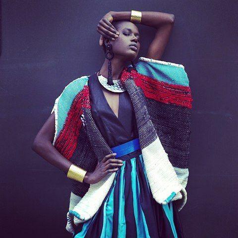Ajak Deng pour Fabrics Interseason. Automne Hiver 10/11.