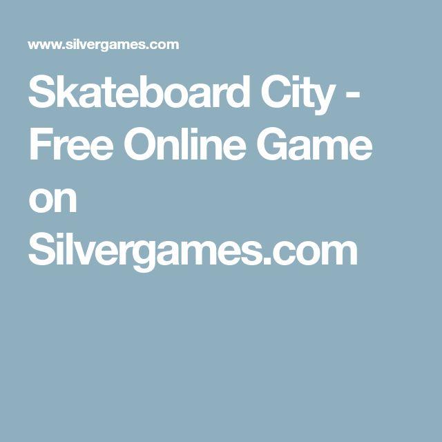 Skateboard City - Free Online Game on Silvergames.com