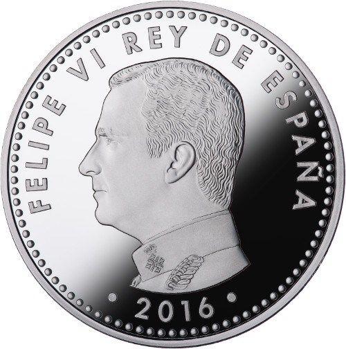 Moneda de 10 euros por el III Centenario de Correos