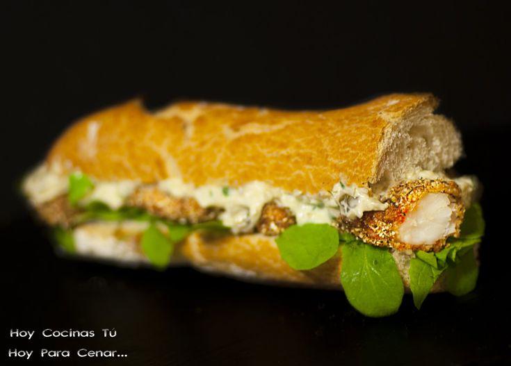 Hoy Cocinas Tú: Shrimp Po'boy, bocadillo de gambas estilo Louisiana