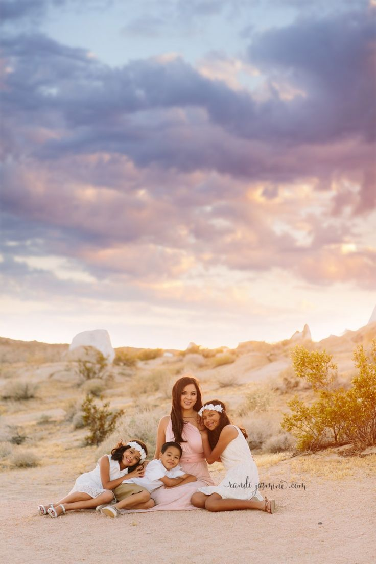 Desert family session RandiJasmine Photography