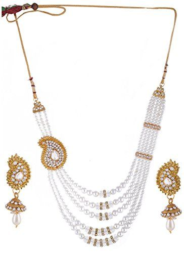 Indian Bollywood Inspired Gold Plated White Pearls 5 Stra... https://www.amazon.com/dp/B01N11SK93/ref=cm_sw_r_pi_dp_x_xyo2ybC4AFPT7