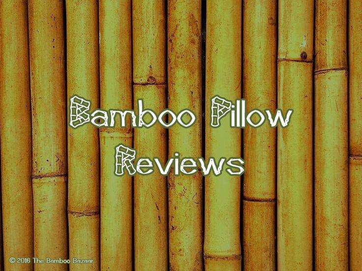 bamboo pillow reviews the bamboo bazaar