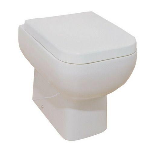 Bathroom Toilet Seat Close Wc White Ceramic with Quick Release Hinge