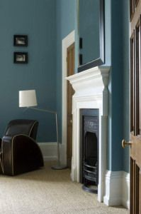 Colour and fireplace