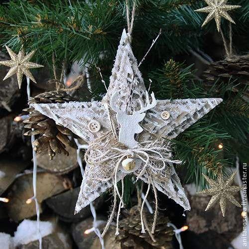 Рождественская звезда. Мастер-класс Аниты Носовой: