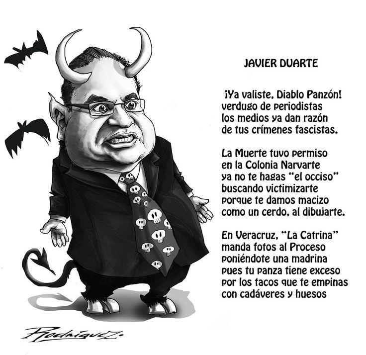 Javier Duarte by Antonio Rodriguez Garcia https://twitter.com/rodriguezmonos/status/661396390883405824
