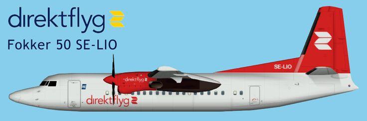 Direktflyg Fokker 50 FS9