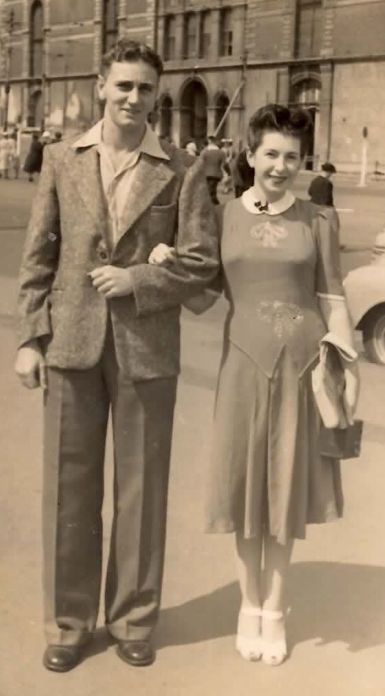 My gorgeous grandparents on a day out in the city of Sydney. I love everything about this photo <3