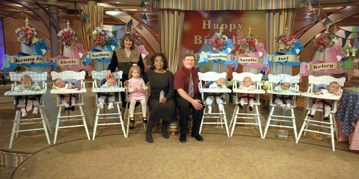 It was one of the most famous births of the '90s. On Nov. 19, 1997, Bobbi and Kenny McCaughey made headlines when Bobbi delivered seven miracle babies who soon became the world's first surviving set of septuplets: Kelsey, Alexis, Brandon, Natalie, Ke...