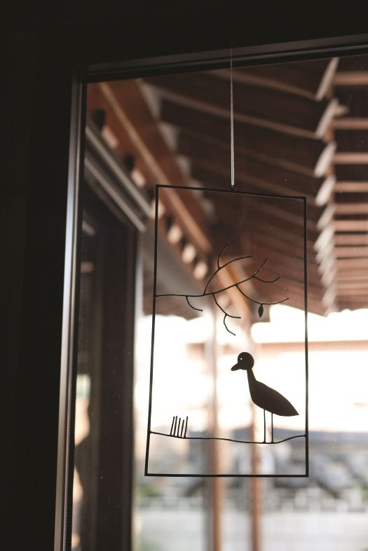 Maison #wind-bell in Korea traditional home