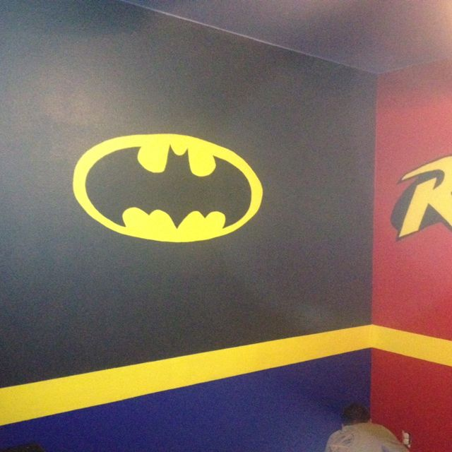 Boys Superhero Bedroom, Super Hero Bedroom And