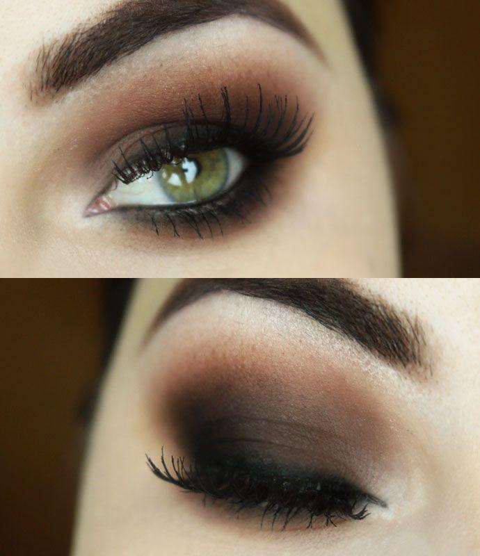 Tutorial – olho marrom esfumado para iniciantes