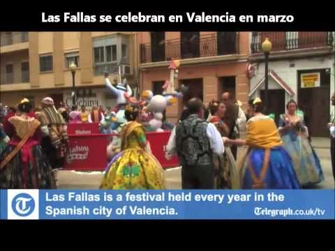 Los Dias Festivos de Espana - Un video que practica los meses y las fechas