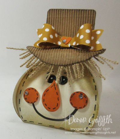 Curvy Keepsake Scarecrow Box video