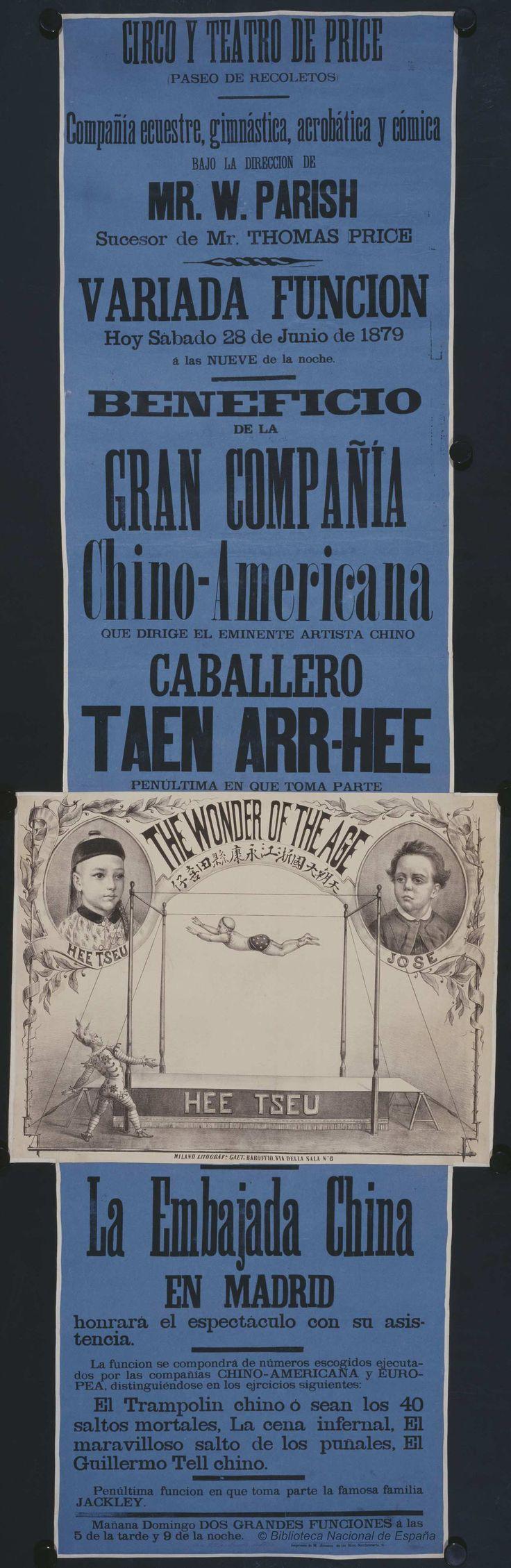 Variada función. Circo Price — Dibujos, grabados y fotografías — 1879