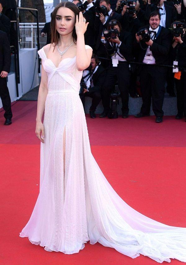 Lily Collins Cannes 2017, Лили Коллинз Каннский кинофестиваль 2017