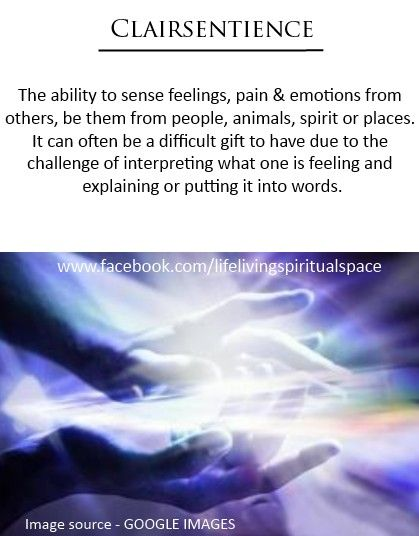 Clairsentience. This is me. It has taken me a long time to learn how to decipher what are my feelings vs. others. It is also why I don't like having many people in my life because I know what they're feeling. This is also another way to explain Fe Extroverted Feeling in me as an INFJ.