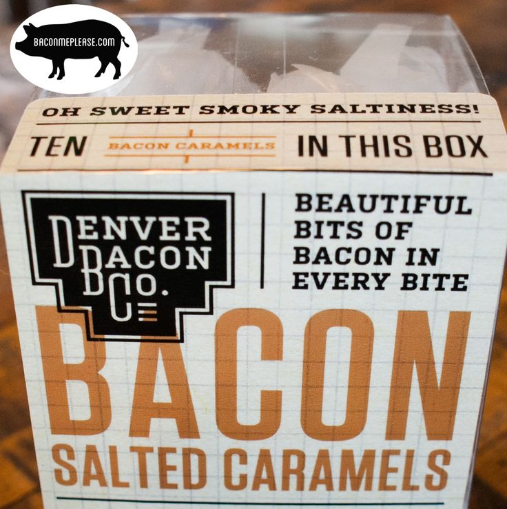 Bacon Salted Caramels are big hunks of chewy, buttery caramel made with real bacon and alderwood smoked sea salt.  You can try a free sample when you signup to the email newsletter at BaconMePlease.com until September 15, 2015. We'll only ask that you split the cost of s&h with us.