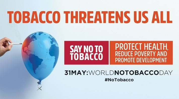 """WiRED International Observes World No Tobacco Day  May 31 is World No Tobacco Day. This year the World Health Organization's theme is """"Tobacco — a threat to development."""" The campaign underlines the danger that the tobacco industry poses to the sustainable development of all countries, including the health and economic well-being of their citizens. Read more: http://wiredinternational.org/Observing_World_No_Tobacco_Day.html #technology #techinel #technews"""