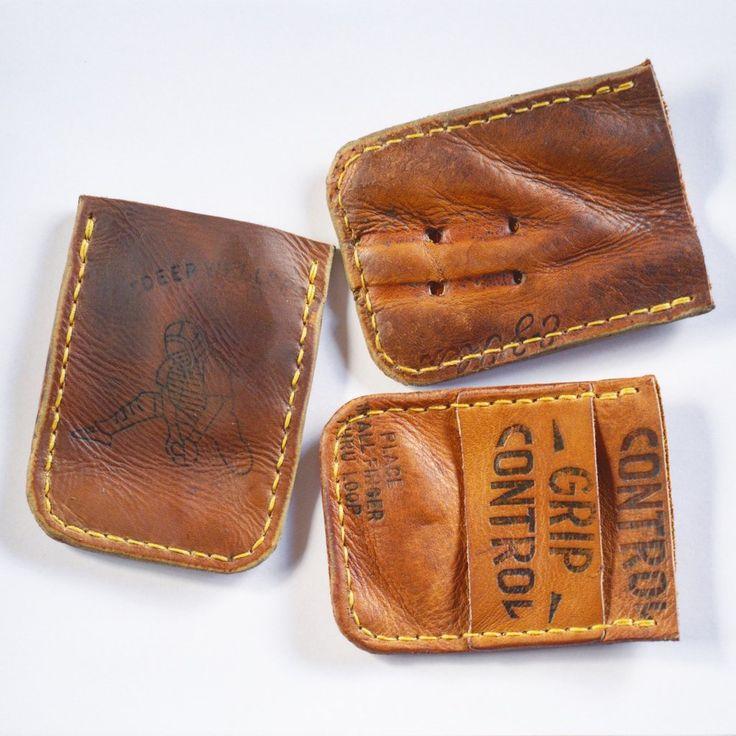 Vintage Baseball Glove Minimalist Wallet