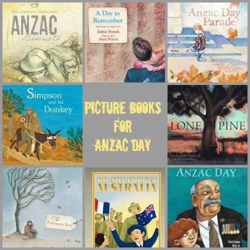 ANZAC DAY COLLAGE books