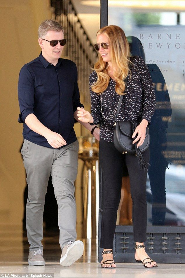 Proud new parents Cat Deeley and Patrick Kielty look loved-up #dailymail