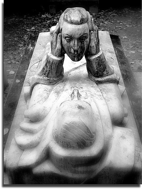 Paris- Père Lachaise graveyard. The catacombs sit underneath this graveyard, even more of a wonder!