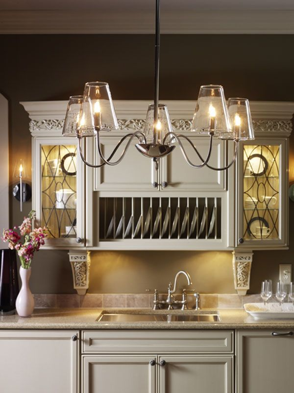 Chic 5 Light Chandelier From LIGHT